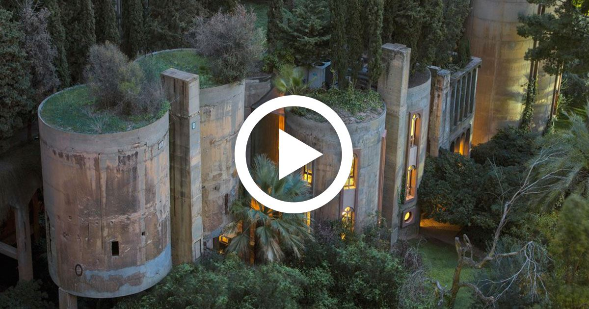 Architect buys old abandoned cement factory transforms it into a breathtaking home - Old cement factory turned home ...